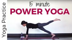 This all-levels Power Yoga practice is a quick taste of the Power Yoga style of yoga with flowing, holding and challenging your muscles and breath. Modificat...
