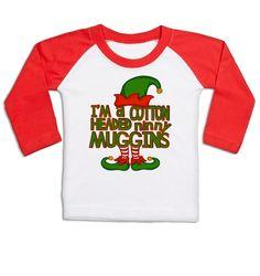 Cotton Headed Ninny Muggins long sleeve baby baseball t-shirt