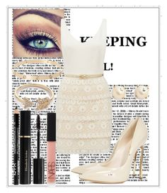 """""""Untitled #38"""" by mariaclair ❤ liked on Polyvore featuring Kate Spade, EF Collection, Forever New, Casadei, NARS Cosmetics and Elizabeth Arden"""