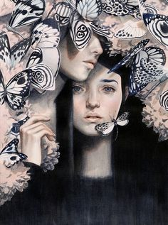 The Insects of Love by Tran Nguyen (Spectrum 2014: editorial art award winner)