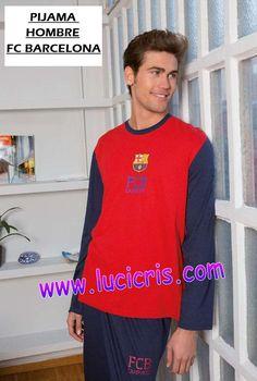 Pijama Hombre FC BARCELONA AzulGrana 2017-2018 a57bad16670