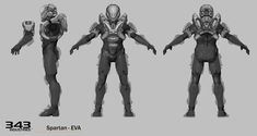 It& Like a Reference Book. Only, For Halo& Spartans. Character Model Sheet, Character Modeling, Character Concept, Character Art, Character Design, Maya, Video Game Artist, Character Turnaround, Mode 3d