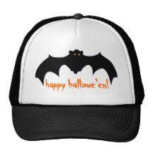 Happy Hallowe'en Bat Trucker Hat