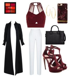"""""""😍"""" by anechiweshe on Polyvore featuring Rasario, Alaïa, River Island, Alexander McQueen, Karl Lagerfeld, NYX and Lana"""