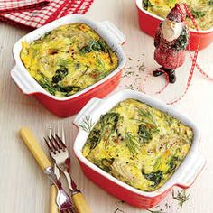 Our Best Breakfast Casseroles | Spinach, Artichoke, and Gouda Casserole  | MyRecipes