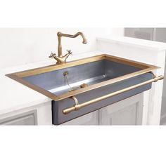 find this pin and more on k i t c h e n stainless brass sink - Brass Kitchen Sinks
