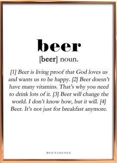 Beer Definition