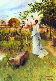 'The Bride' - Carl Larsson