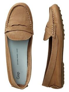 Leather loafers | Gap