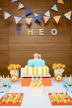 O Leãozinho - Festa de 1 ano do Theo