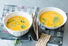 Ananas-Kürbis-Creme-Suppe