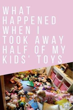We all may threaten it, but I did it. When I took over half of my kids' toys away for almost a month here is what I learned about their relationship with toys New Parent Advice, Life Advice, Child Loss, Christian Parenting, Creative Kids, Take My, Parenting Hacks, Kids Toys, Activities For Kids