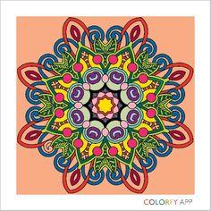 Colorir e arte