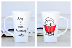 Reading Funny Quote Mug - Book Lover coffee cup - book worm Coffee Mug - Literary gift on Etsy