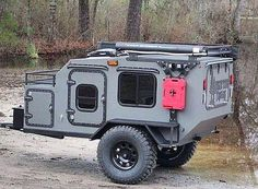 2019 Gen 3 Extended with RotoPax Fuel Canister Spot Lights Front Storage Box Front Rack BFG Tires Aluminum Wheels Dual Battery Box Small Camper Trailers, Teardrop Camper Trailer, Off Road Camper Trailer, Airstream Trailers, Rv Campers, Small Camping Trailer, Small Trailer, Off Road Camping, Jeep Camping