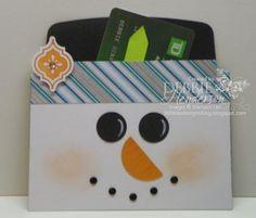 Envelope Liner Gift Card Holder