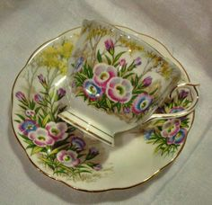Vintage Royal Albert Bone China Tea Cup and by WoodsHarbourTeaRoom