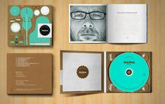 Cd packaging and Art direction by Luis Torregrosa, via Behance Cd Cover Design, Cd Design, Graphic Design, Cd Packaging, Packaging Design, Jazz Cd, Editorial Design, Album Covers, Design Inspiration