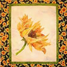 sunflower quilt pattern - Google Search
