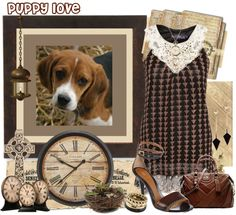 """Puppy Love"" by skpg ❤ liked on Polyvore"