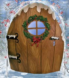 Recycle Reuse Renew Mother Earth Projects: How to make Yule Fairy Doors