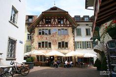 Rathskeller Olten, SO Switzerland Hamburgers, Wonderful Places, Travel Photos, Places Ive Been, Photo Galleries, Trips, Restaurants, Mansions, World