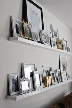 DIY Floating Shelves | Decorating Your Small Space