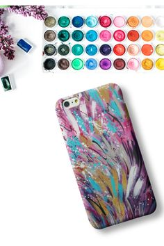 Nothing is quite like the meditative qualities of watercolor designs. Just watching the beautiful color mix, becomes a relaxing experience every creative person can enjoy. Get this artist watercolor phone case to enjoy beauty every single day! Samsung Cases, Iphone Cases, Watercolor Design, New Artists, Phone Covers, Color Mixing, Meditation, Creative, Beauty