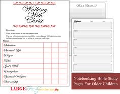 Free Notebooking pages: Bible for advanced learners; very tiny lines for older kids. This will NOT work for young children. This is for high school or middle schoolers who write very small.