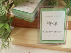 Country Breeze Scented 100% Soy Wax Melt - Fresh Country Scent- Maximum Scented on Etsy, $2.95