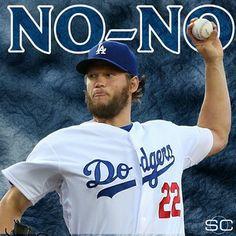 #KKKKKKKKKKKKKKKershaw #NoNO Clayton Kershaw, Love My Boys, My Love, Dodgers Girl, Go Blue, Baseball Cards, Breathe, Sports, Live