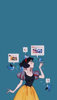 Disney Princess wallpaper for Android and iPhone Snow White Wallpaper, More Wallpaper, Cartoon Wallpaper, Popular Anime, Wallpaper Iphone Disney, Disney Pictures, Digimon, Character Art, Chibi