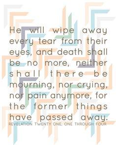 Revelations 21:1-4