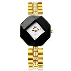 SOXY Luxury Diamond Watch Fashion Gold Watch Women Watches Ladies Watch Lady Hour Gift montre femme relogio feminino reloj mujer Like if you remember Get it here