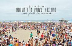 travel california | das manhattan 6-men beach volleyball spektakel