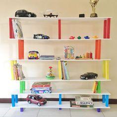 Floor shelf with his own hands photo