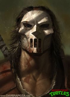 Casey Jones – TMNT by Dave Rapoza.