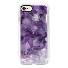 Amethyst - iPhone 7 Case, iPhone 7 Plus Case, iPhone 7 Cover, iPhone 7... ($40) ❤ liked on Polyvore featuring accessories, tech accessories, iphone case, iphone cases, apple iphone cases and iphone cover case