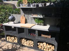 Back Gardens, Outdoor Gardens, Outdoor Grill Station, Outdoor Bbq Kitchen, Garden Cabins, Weekend House, Outdoor Living, Outdoor Decor, Garden Styles