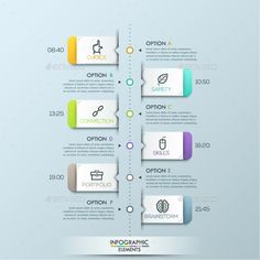 modern infographic paper timeline 2 items template design vector