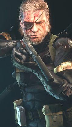 Big Boss HD #mgs #metalgearsolidv #mgsv #Groundzeroes #snake #wallpaper Big Boss Metal Gear, Snake Metal Gear, Metal Gear Games, Metal Gear Solid Series, Cry Anime, Anime Art, Video Game Art, Video Games, Raiden Metal Gear