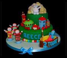 night garden cakes - Google Search