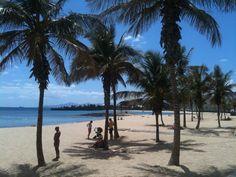 Playa Del Reducto en Arrecife, Canarias