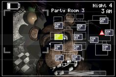 Creepy rare screen of Freddy in Fnaf 2 that popped up on me