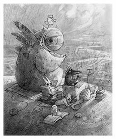 """""""Our Tuesday Afternoon Reading Group"""" by Shaun Tan"""