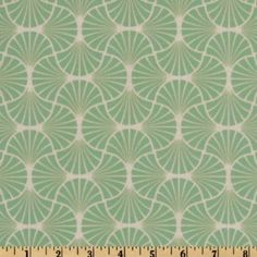 54'' Wide Joel Dewberry Home Decor Heirloom Empire Weave Jade Fabric