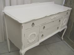 Perfect for a dining room, as a television stand, as a changing table or even in an office for your printer and filing!