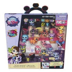 Littlest Pet Shop Collector Party Pack Loads of cute and unique pets to collect Design your own LPS world, your way LPS Your World app lets you bring your LPS world to life digitally Littlest Pet Shop and all related characters are trademarks of Hasbro Lps Littlest Pet Shop, Little Pet Shop Toys, Little Pets, Lps Toys, Doll Toys, Diy Home, Christmas Animals, Party Packs, Animal Party