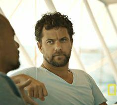 Joshua Jackson - #YearsofLivingDangerously Collapse of Our Oceans episode.  jjh