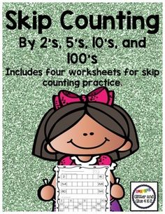 Use these worksheets to practice skip counting by and Skip counting by and goes up to Skip counting by goes up to If you like this product please leave feedback at my store :) Kindergarten Math, Teaching Math, Teaching Ideas, Preschool, Skip Counting By 2, Skip Counting Activities, Math Activities, Math Stations, Math Centers